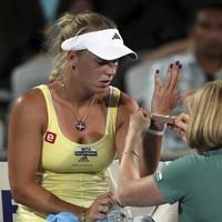 Wristy business: Wozniacki given the all-clear for Australia