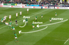 Analysis: Joe Schmidt tweaked one of his favourite moves against France
