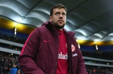 Eintracht Frankfurt star returns less than a year after cancer diagnosis