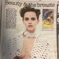 This journalist's response to a photo of Emma Watson is why the world needs feminism