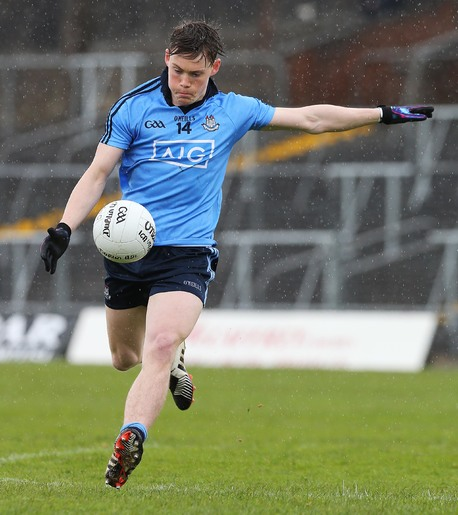 Con O'Callaghan will be a key figure for the Dublin U21's tonight.