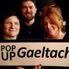 There's going to be a pop up Gaeltacht 'from the Bankers to the Mercantile' tonight