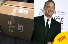 Tom Hanks sent a new coffee machine to all the reporters covering Trump at the White House