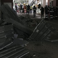 At least five injured after South African hospital roof collapses