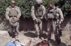 US denounces video showing Marines 'urinating on Taliban dead'