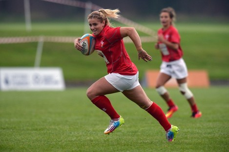 Norkett: the youngest player to feature at the 2014 Women's World Cup.