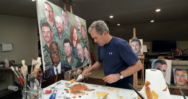 """It has changed my life"": George W Bush is sticking with the painting (and he's getting better)"