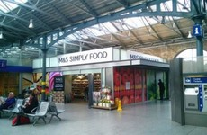 An M&S has just opened in Heuston, making everyone's commutes that bit more notionsy