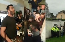 Hermitage Green played a UL RAG Week house party and the Gardaí shut it down