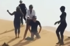'I don't want to talk about it': Rod Stewart apologises after claims video featured mock beheading