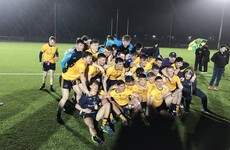 DCU make it a football and hurling Freshers double with narrow win over NUIG