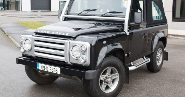 This limited edition soft-top Land Rover Defender is a piece of history