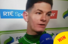 This Shamrock Rovers player gave a delightfully sweary interview live on RTÉ last night