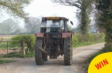 A Meath farmer unwittingly ended a high-speed Garda chase by blocking the road with his tractor
