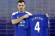 Sweet deal: Gibson confirmed as a Toffee
