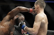 Woodley prevails in Wonderboy rematch to retain UFC title but Dana disagrees with result