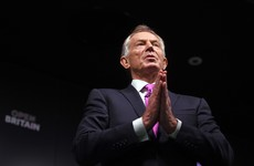Blair denies report that he's taking a job with Donald Trump