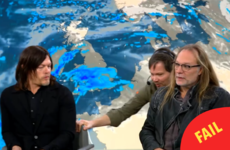 Daryl from The Walking Dead was literally dragged off Sky News to make way for the weather