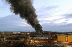 Huge fire in Glasgow brought under control