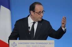 Threat of a far-right French presidency is real 'but France will not give in', says Hollande