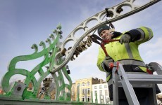 Where's the love? Council removes 'love padlocks' from Dublin's Ha'penny Bridge