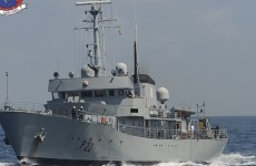 Fishing vessel detained by Naval Service