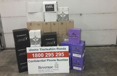 Revenue has seized 360 litres of wine discovered on van coming back from France