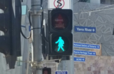 Melbourne trials 'female' traffic lights