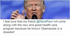 Trump targets critic by name on Twitter after Republican backlash to his health plan