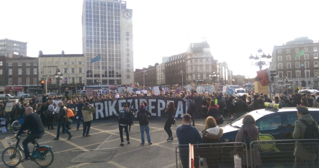 Repeal protests attract thousands to the streets of Dublin