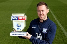 'I'm proud to be his manager' - McGeady named Championship player of the month