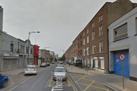 A section of Thomas Street, Co Limerick.