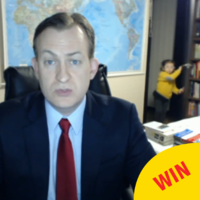 This man's very serious BBC interview was interrupted by his kids barging into the room