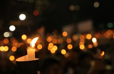 Prayer vigil held at St James's Hospital this evening for victims of Clondalkin fire