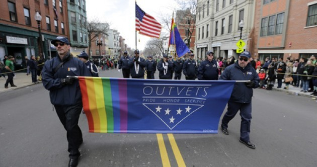 Gay army veterans WILL be allowed to march in Boston St Patrick's Day parade