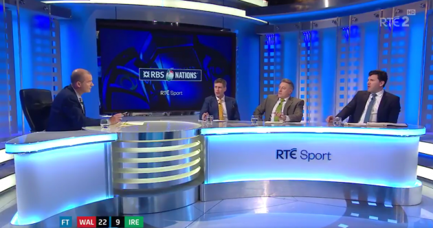 What the RTE panel had to say in the wake of defeat in Cardiff last night