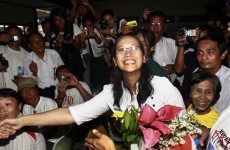 Praise for Burma's release of political prisoners