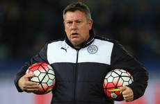 Leicester confirm Shakespeare as the man they believe will save them from relegation