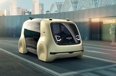 Meet SeDriC, VW's self-driving taxi that will pick your kids up for you