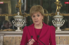 Nicola Sturgeon announces plans for a second Scottish independence referendum