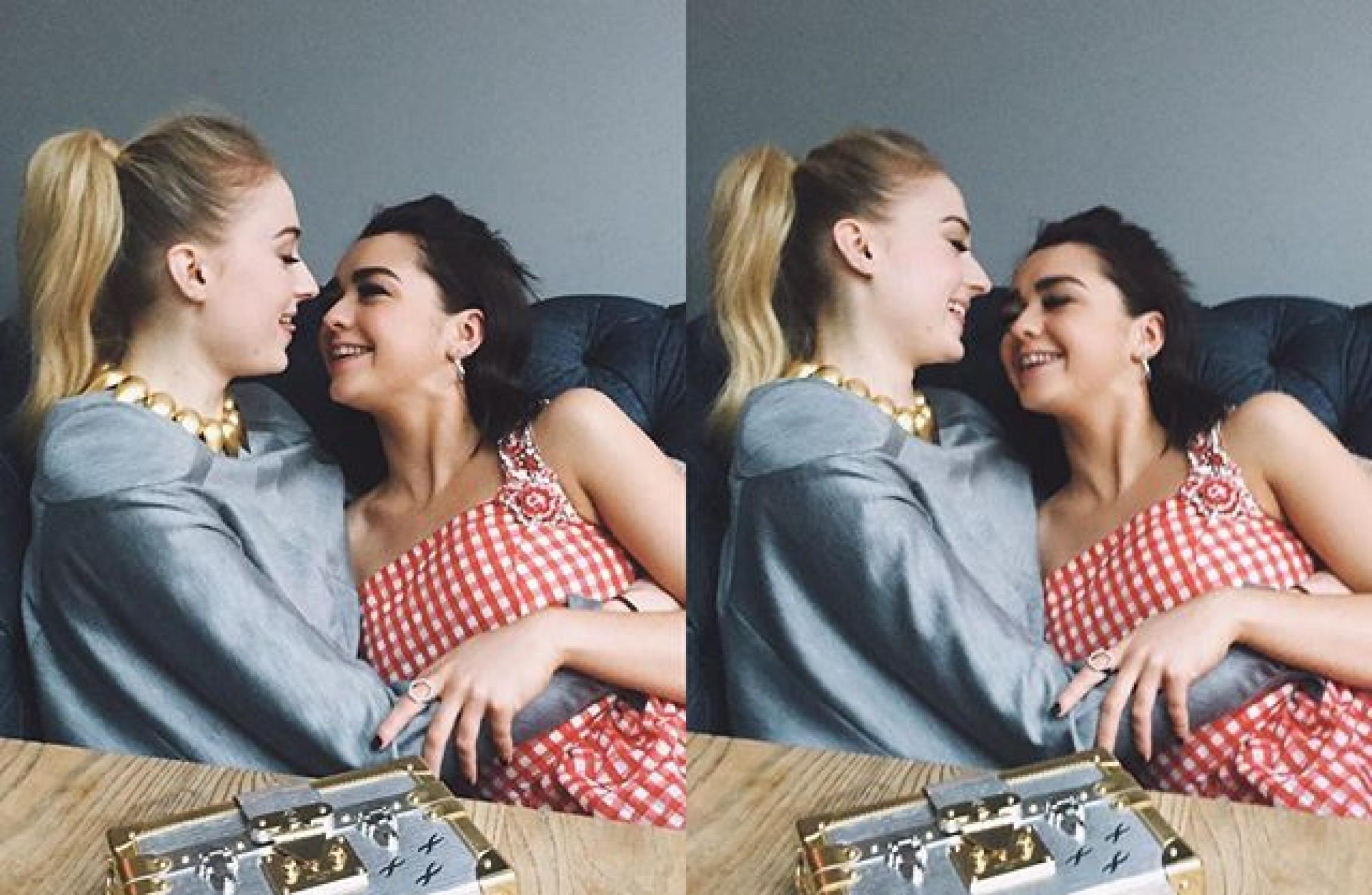 Selfie Sophie Turner and Maisie Williams nude photos 2019
