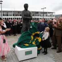 Life-size stature of AP McCoy unveiled at Cheltenham