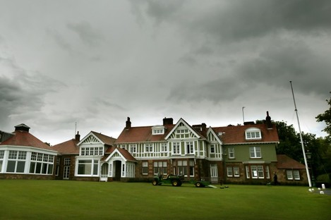 Muirfield's famous clubhouse.