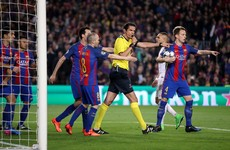 PSG condemn performance of referee during Barcelona defeat in letter to Uefa