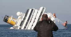 In pictures: the capsized Costa Concordia