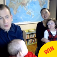 'She was in a hippity-hoppity mood': The dad from THAT BBC interview explains the whole thing