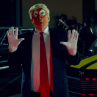 Snoop Dogg under fire for shooting an orange-faced Donald Trump clown in music video