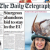 Tomorrow's UK newspapers may spoil the Scottish independence party