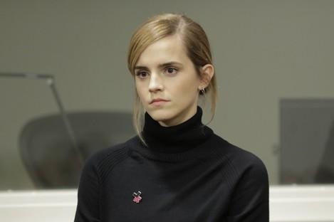 UN Women's Goodwill Ambassador, Emma Watson launches HeForShe.