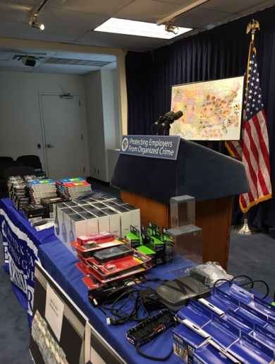 A gang led by 'The US General' rounded up in 'one of the largest-ever busts of retail theft ring'